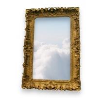 Spiegel Regency geschnitzt und vergoldet.