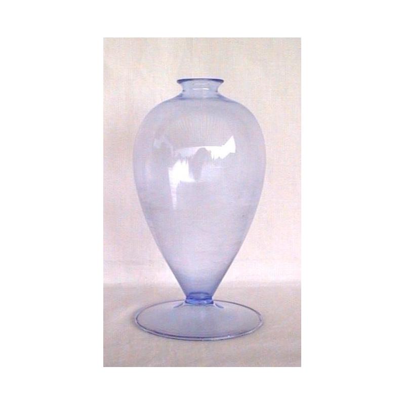 vase soliflore en verre souffl bleu sur moinat sa. Black Bedroom Furniture Sets. Home Design Ideas