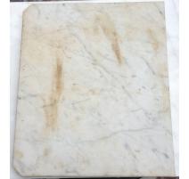 Petit plateau de chevet en marbre