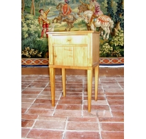 Directoire bedside table.