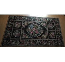 Tapis au petit point (fait main) fond