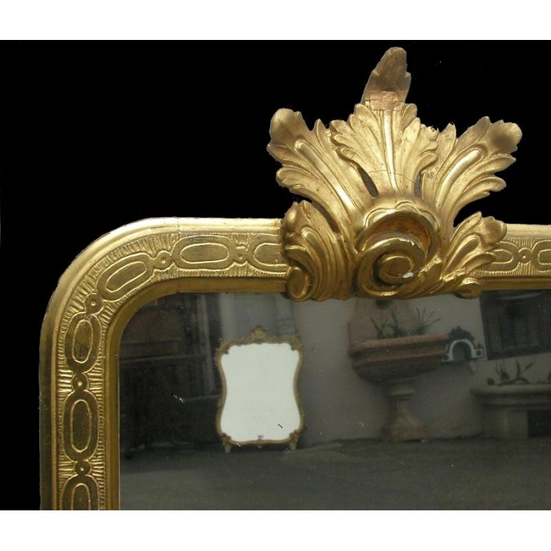 spiegel regency laub und eis von quecksilber moinat sa antiquit s d coration. Black Bedroom Furniture Sets. Home Design Ideas