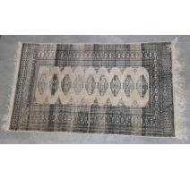 Teppich-boden in beige und grau dekor