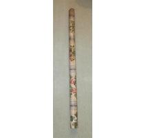 Pilaster aus lackiertem blech, dekor blumen