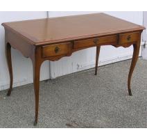 Bureau plat style Louis XV modèle Hache