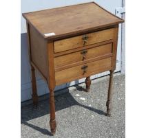 Bedside Directoire 3 drawer chest.