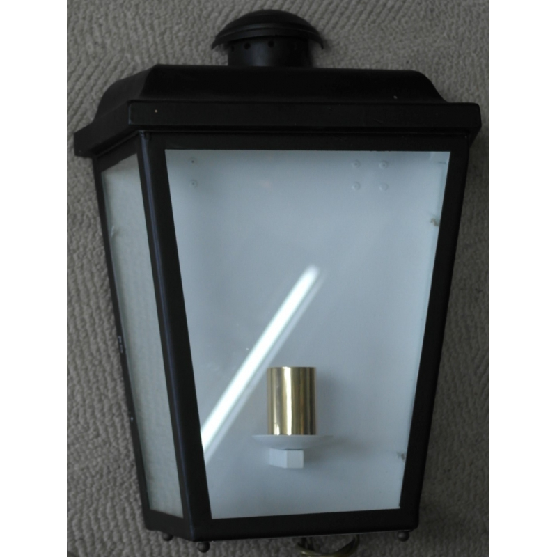 lanterne applique en laiton de sur moinat sa antiquit s d coration. Black Bedroom Furniture Sets. Home Design Ideas