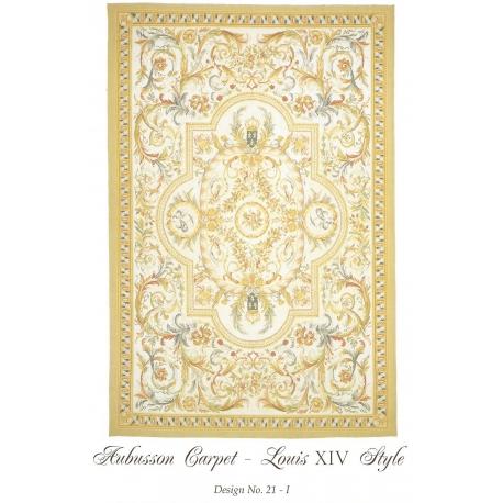 tapis aubusson style louis xiv dessin sur moinat sa antiquit s d coration. Black Bedroom Furniture Sets. Home Design Ideas