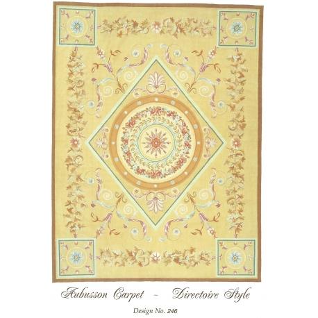 tapis aubusson style directoire dessin sur moinat sa antiquit s d coration. Black Bedroom Furniture Sets. Home Design Ideas