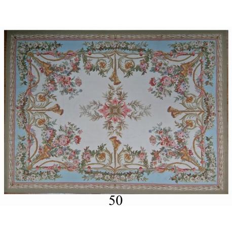 tapis aubusson style louis xvi dessin sur moinat sa antiquit s d coration. Black Bedroom Furniture Sets. Home Design Ideas