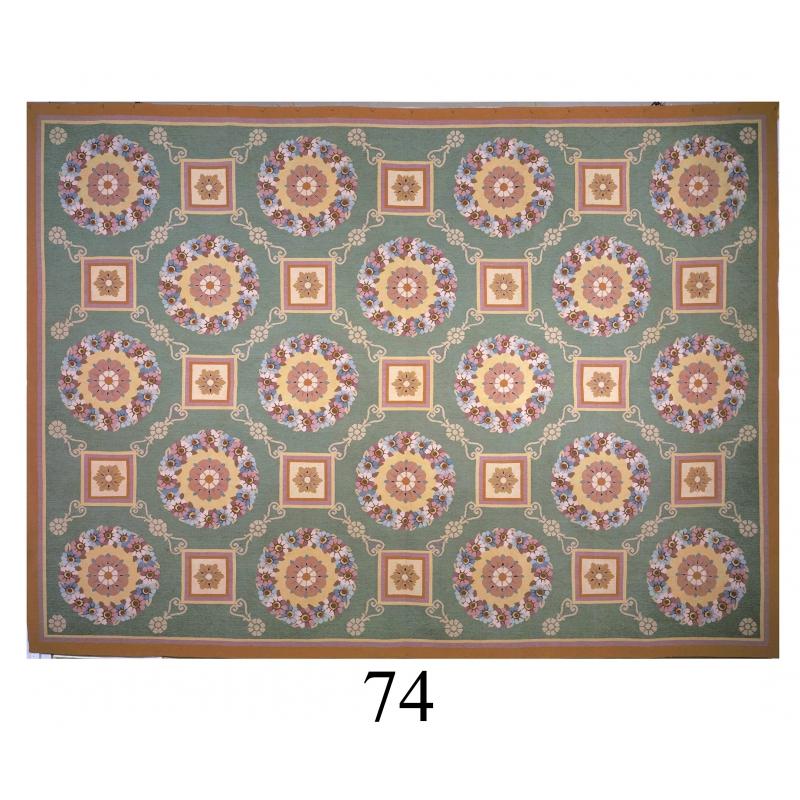 tapis aubusson style empire dessin 74 sur moinat sa antiquit s d coration. Black Bedroom Furniture Sets. Home Design Ideas