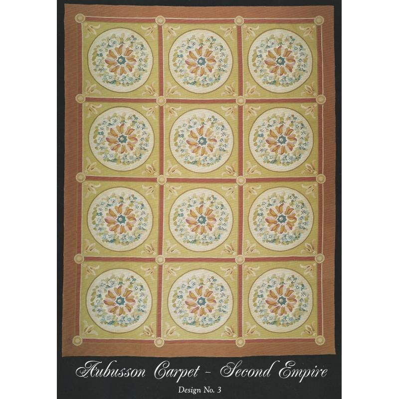tapis aubusson style empire dessin 3 sur moinat sa antiquit s d coration. Black Bedroom Furniture Sets. Home Design Ideas