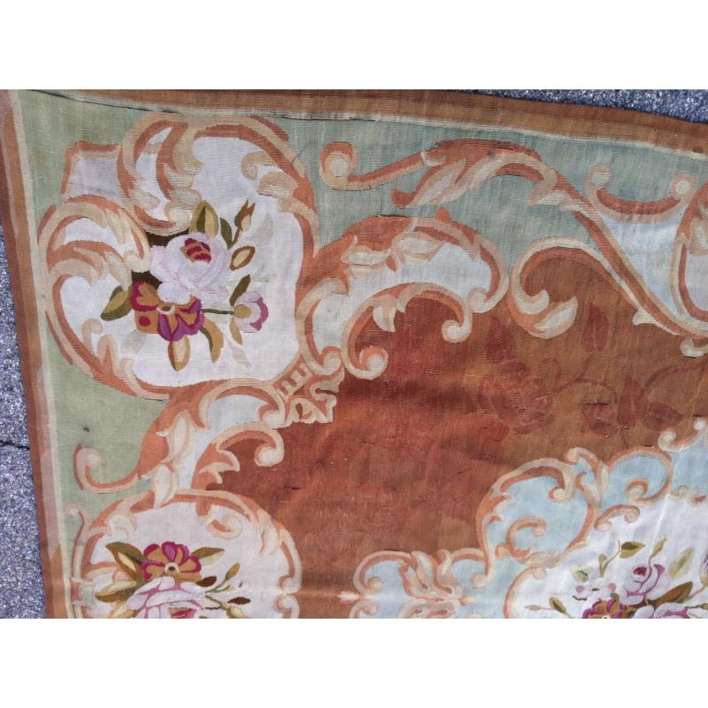 tapis aubusson style louis xvi sur moinat sa antiquit s d coration. Black Bedroom Furniture Sets. Home Design Ideas