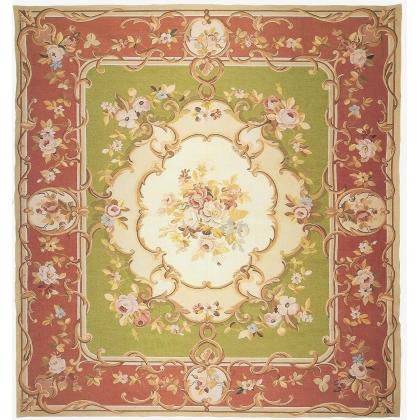 Teppich Aubusson stil Louis Philippe,