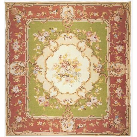 tapis aubusson style louis philippe sur moinat sa antiquit s d coration. Black Bedroom Furniture Sets. Home Design Ideas