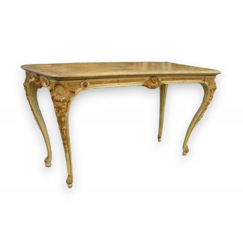 table gibier avec pi tement en fonte sur moinat sa antiquit s d coration. Black Bedroom Furniture Sets. Home Design Ideas