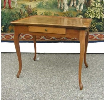 Table Louis XV bernese inlaid.