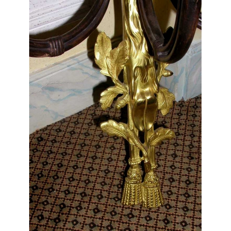 wandleuchte waldhorn in gold und bronze moinat sa. Black Bedroom Furniture Sets. Home Design Ideas