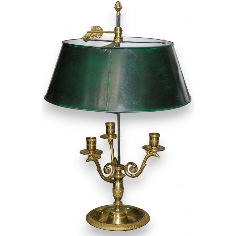 Lampe Bouillotte Empire Sur Moinat Sa Antiquites Decoration