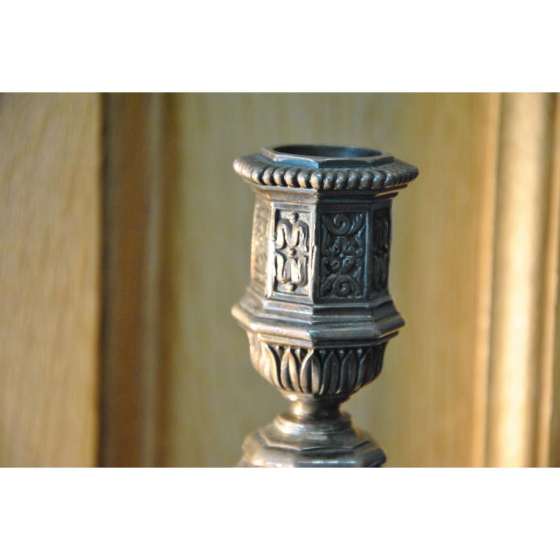 kerzenleuchter von christofle moinat sa antiquit s d coration. Black Bedroom Furniture Sets. Home Design Ideas