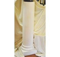 Column plaster smooth