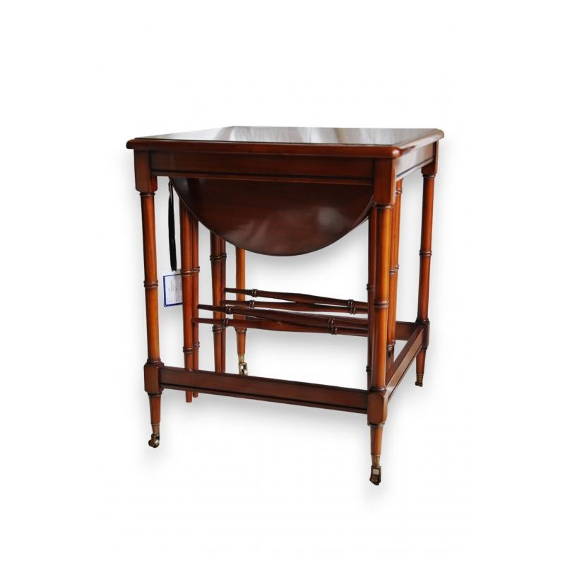 Table bout de canap gigogne en acajou sur moinat sa - Table de canape ...