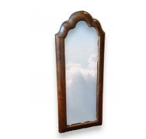 Petit miroir Victorien en bois laqué et