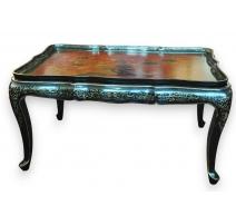 Table basse style Louis XV en laque