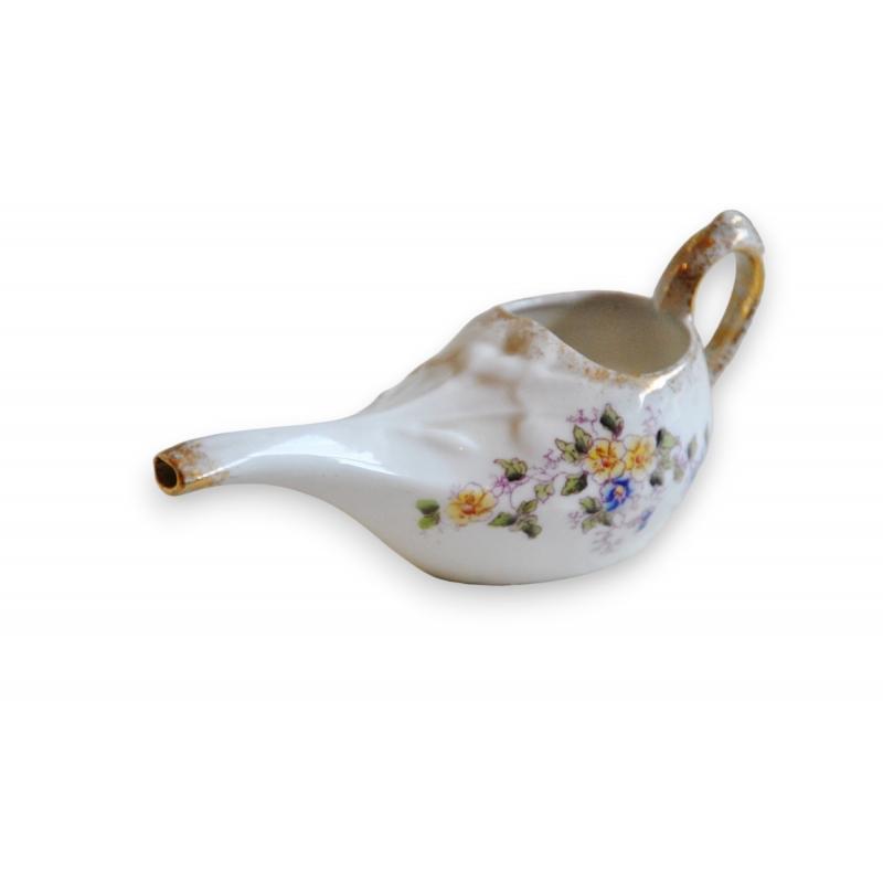 Canard de malade en porcelaine d cor sur moinat sa antiquit s d coration - Canard decoration accessoire ...