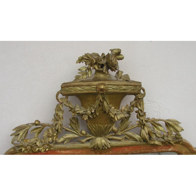 Miroir louis xvi sur moinat sa antiquit s d coration for Miroir louis xvi