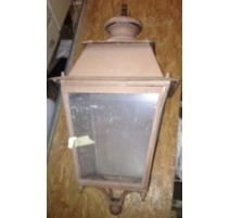 Grande lanterne carrée en fer