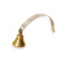 Bell of brass door