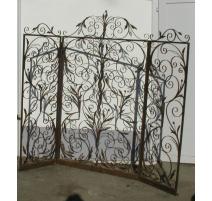 Portal inside, wrought iron Art & Deco.
