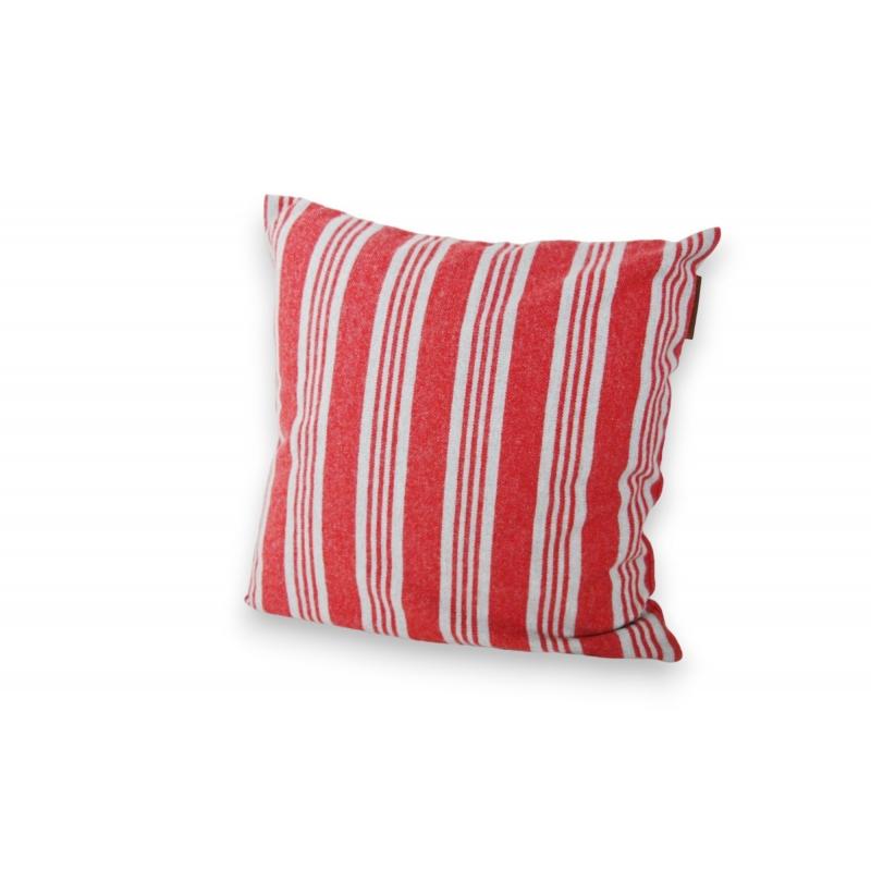 coussin ray rouge et gris lexington sur moinat sa. Black Bedroom Furniture Sets. Home Design Ideas