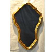 """Miroir """"Gold style"""" en bois doré"""