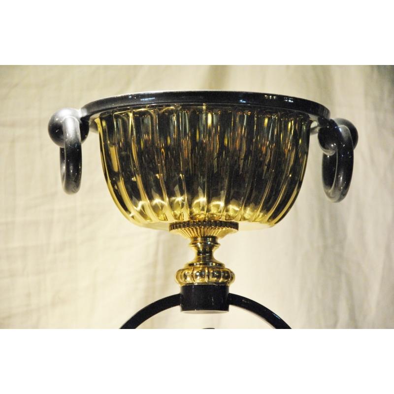 lampe halog ne aigle en acier bruni sur moinat sa. Black Bedroom Furniture Sets. Home Design Ideas