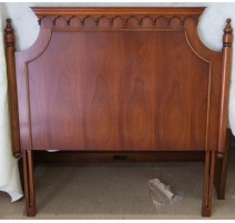 The head of the bed, Regency, mahogany.