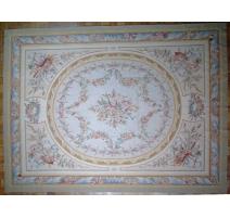 Alfombra Aubusson estilo Luis XVI, de dibujo