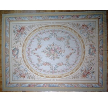 Carpet Aubusson Louis XVI style, drawing