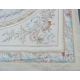Tapis Aubusson style Louis XVI, dessin