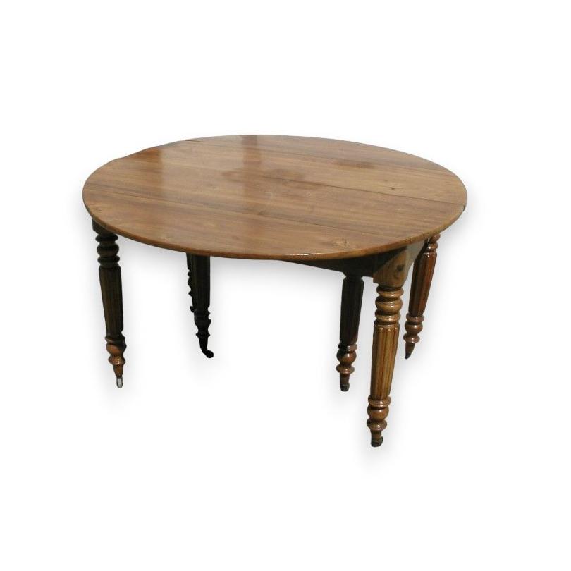 Table de salle à manger Louis-Philippe. - Moinat SA - Antiquités ...