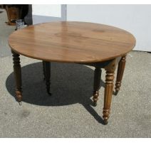 Louis-Philippe round dining table.