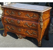 Chest of drawers Regency style rosewood and