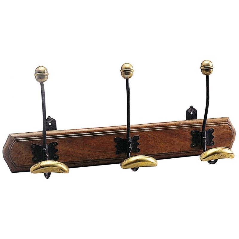 portemanteau fixer au mur en bois sur moinat sa antiquit s d coration. Black Bedroom Furniture Sets. Home Design Ideas