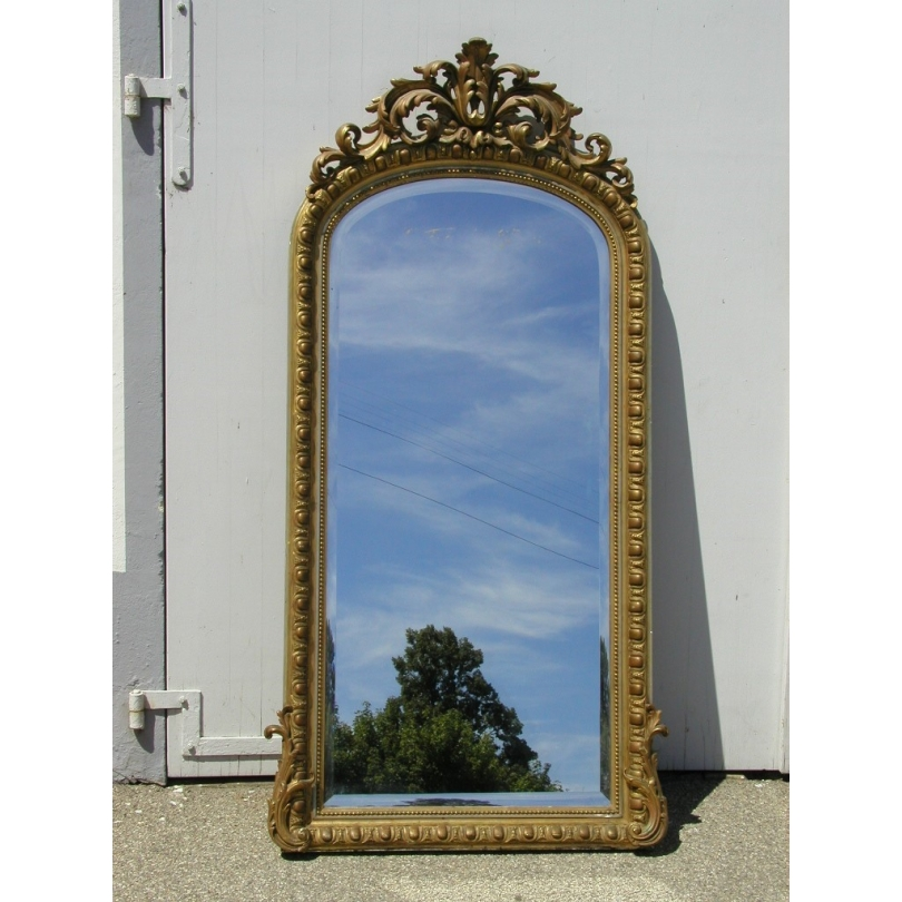 Napoleon III beveled Mirror.