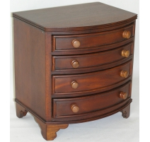 Convenient miniature with 4 drawers