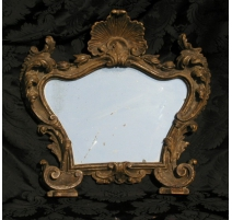 Small Louis XV mirror.