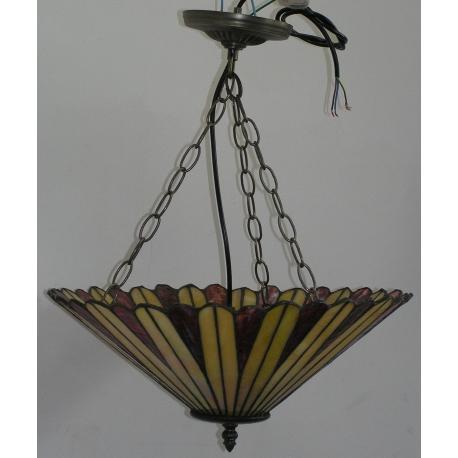 suspension anglaise genre tiffany en sur moinat sa antiquit s d coration. Black Bedroom Furniture Sets. Home Design Ideas