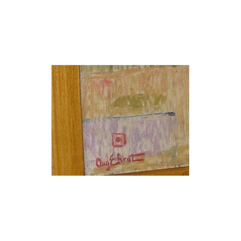 peintures tableau suisse huile sur toile moinat sa. Black Bedroom Furniture Sets. Home Design Ideas