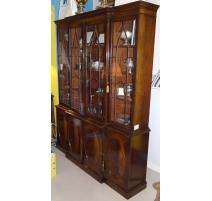 Library-showcase English mahogany